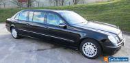 Mercedes BINZ E Class (220 CDI) 2005 Limousine Black (Funeral)