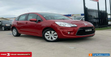 2011 Citroen C3 A5 Exclusive HDi Hatchback 5dr Man 5sp 1.6DT Red Manual M