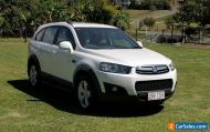 2013 Holden Captiva 7 CX Wagon 7 Seater 6 Speed Auto AWD 2.2 Litre Turbo Diesel