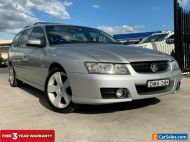 2007 Holden Commodore VZ SVZ Wagon 5dr Auto 4sp 3.6i [MY07] Silver Automatic A