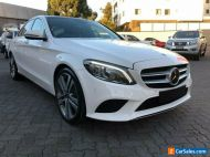 2018 Mercedes-Benz C300 205 MY18 White Automatic 9sp A Sedan
