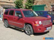 Jeep Patriot 2.0CRD 2010 Limited edition Spares or repair