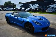 2014 Chevrolet Corvette Stingray Z51 2dr Convertible w/3LT