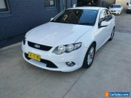 2010 Ford Falcon FG Upgrade XR6 White Automatic 6sp A Sedan
