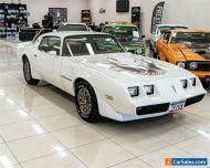 1978 Pontiac Firebird Formula White Coupe