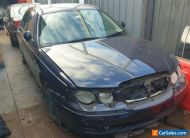 ROVER 75 x 2 2003 & 2001 COMPLETE ONE HAS FRONT DAMAGE BOTH CAN BE REGISTERED