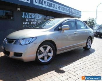 2008 Honda Civic MY07 VTi-L Silver Automatic 5sp A Sedan for Sale