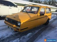 1985 Reliant Rialto 850cc 3 wheel car