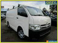 2011 Toyota HiAce TRH201R MY11 Upgrade LWB White Automatic 4sp A Van