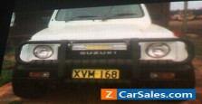 1991 Suzuki Sierra