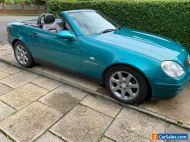 mercedes-benz slk 2000 r170 230 kompressor