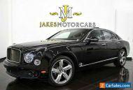 2016 Bentley Mulsanne Speed ($398,362 MSRP)