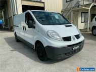2012 Renault Trafic X83 Phase 3 White Automatic A Van