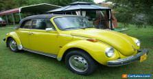 1975 Volkswagen Beetle Cabriolet