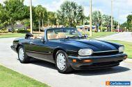 1996 Jaguar XJS All original Convertible 2+2 books records