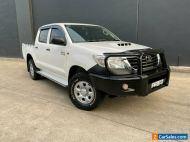 2013 Toyota Hilux KUN26R MY12 SR Utility Double Cab 4dr Man 5sp, 4x4 865kg 3.0