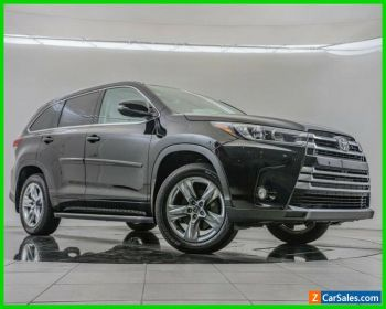 2017 Toyota Highlander Limited for Sale