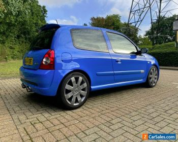 2004 Racing Blue Renaultsport Clio 182 - 63,710 Miles, FSH Inc Belts, 3 Owners for Sale