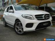 2016 Mercedes-Benz GLE250D 166 White Automatic 9sp A Wagon