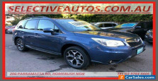 2014 Subaru Forester MY13 2.5I-S Blue Automatic A Wagon