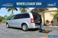 2009 Chrysler Town & Country Mobility Wheelchair Power Rear Platform Lift Harmar