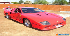 FERRARI F40 TRIBUTE  FULL ADR GREEN TAG COMPLIANCED CAN REGISTER IN ANY STATE