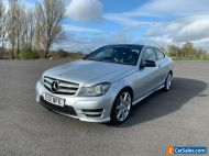 2012 MERCEDES C220 CDI AMG SPORT 3dr COUPE **FULLY LOADED**