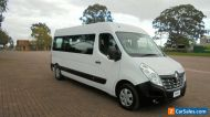 2017 Renault Master X62 MY17 LWB Mid White Automatic 6sp A Bus