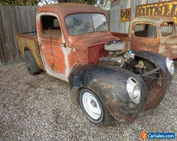 FORD 1940 PICK UP ALL STEEL V8 9 DIFF SUIT HOT ROD F100 RAT ROD PROJECT DRAG for Sale