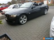 2009 BMW 3 Series 325i SE Convertible Black