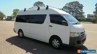 2008 Toyota HiAce TRH223R MY07 UP camper/van White Automatic 4sp A Van