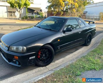 NISSAN SKYLINE R34 GTT GT-T MANUAL COUPE RB25DET for Sale
