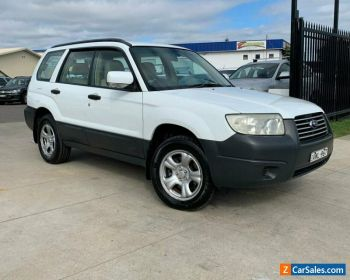 2005 Subaru Forester 79V X Wagon 5dr Auto 4sp AWD 2.5i [MY06] White Automatic A for Sale