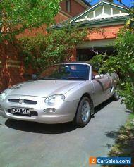 MG F 2000 manual silver convertible