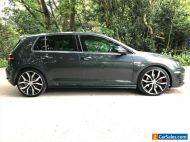VW GOLF 2.0 TDI GTD DSG AUTOMATCIC 2016 -16 FULL BLACK LEATHER 19 INCH ALLOYS
