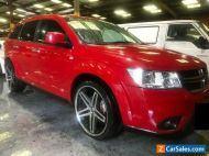 2014 Red Dodge Journey Wagon