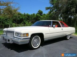 1975 Cadillac DeVille Coupe Low Mileage Show Car! Must See! 500 V8