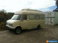 Rare 1977 Bedford Dormobile Land Cruiser Camper