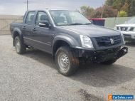 2008 HOLDEN RODEO LX RA DUAL CAB 4X4 3.6L PETROL AUTO DAMAGED STATUTORY PARTS