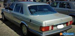 CLASSIC W126 MERCEDES SEDAN 380SEL V8