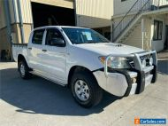 2007 Toyota Hilux KUN26R SR White Manual M Cab Chassis