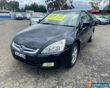 2005 Honda Accord 40 VTi Black Automatic 5sp A Sedan for Sale