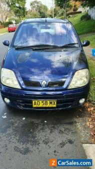 Renault scenic station wagon fwd manual