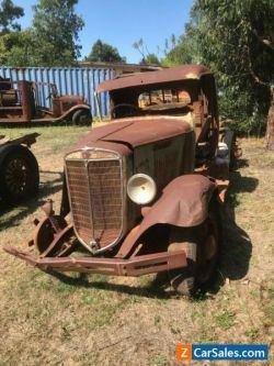 International truck vintage yard art hot rod