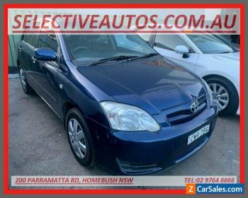 2005 Toyota Corolla ZZE122R Ascent Seca Blue Automatic 4sp A Hatchback for Sale