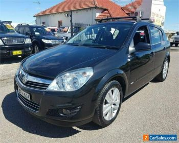 2007 Holden Astra AH CD Black Manual M Hatchback for Sale