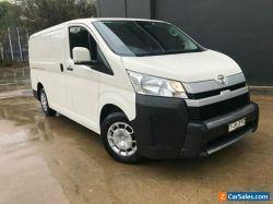 2019 Toyota HiAce GDH300R Van LWB 5dr Spts Auto 6sp, 2.8DT White Automatic A