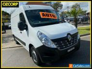2015 Renault Master X62 MY13 3.5 MWB Mid White Automatic 6sp A Van