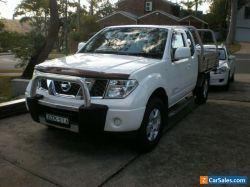 2011 Nissan Navara D40 ST-X, 4WD, King Cab/4 Seater Ute, Auto