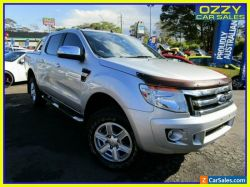 2014 Ford Ranger PX XLT 3.2 (4x4) Highlight Silver Automatic 6sp A